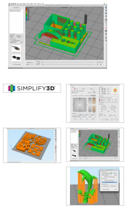 Simplify3D All-in-one Druck-Software